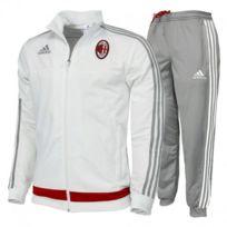 Adidas originals - Acm Pes Suit M Blc - Survêtement Football Ac Milan Homme Adidas