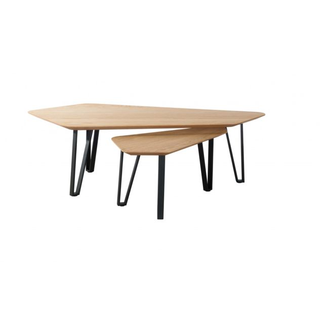 HELLIN Tables basses gigogne - BRIGHTON