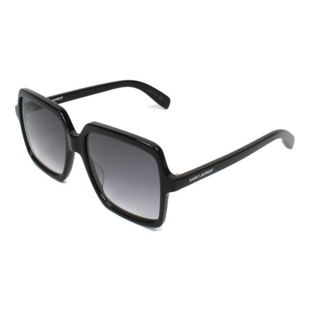 2e482332bfef9a Yves Saint Laurent - Sl-174 001 Noir - Lunettes de soleil - pas cher Achat    Vente Lunettes Tendance - RueDuCommerce