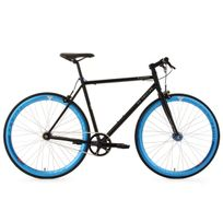 KS CYCLING - Vélo fitness fixie 28'' Pegado noir TC 59 cm