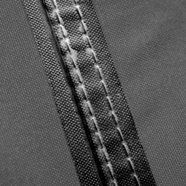 Housse de coussins d'extérieur 125 x 32 x 50 cm Gris