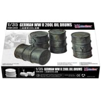 Great Wall Hobby - 1:35 - Wwii German 200L Oil Drums 1/35 Scale - Gwh3513