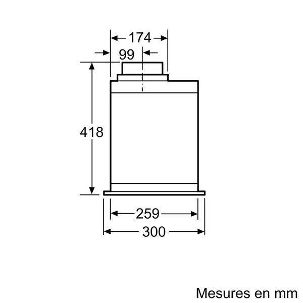 SIEMENS - groupe filtrant 86cm - lb88574