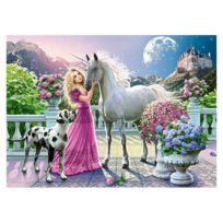 Castorland - Puzzle 300 pièces : Mon amie la licorne