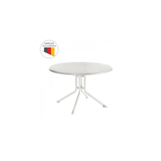 Kettler - Table de jardin pliante Advantage Ø 115 cm en ...