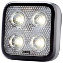 Knog - Blinder Mob Four Eyes - Éclairage avant - 1 Led blanche standard noir