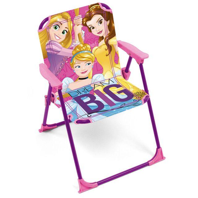 Worlds Apart Chaise pliante Princesses Disney pas cher