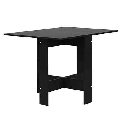 Table pliante deux abattants noir