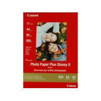 CANON - PP201 - Papier plus glacé A4 - 20 Feuilles