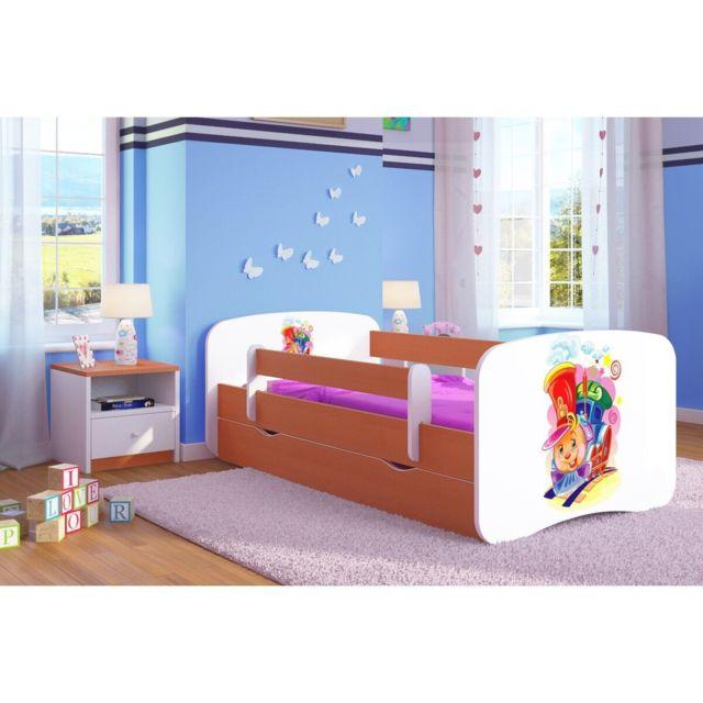 carellia lit enfant ciuchcia 70 cm x 140 cm avec. Black Bedroom Furniture Sets. Home Design Ideas
