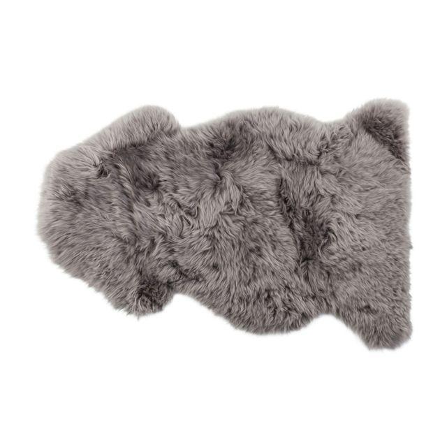 karedesign peau de mouton 95 cm gris kare design 50 pas cher achat vente tapis rueducommerce. Black Bedroom Furniture Sets. Home Design Ideas