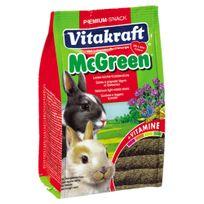 Vitakraft - Sticks à Grignoter Greenies à la Luzerne pour Lapins Nains - 50g