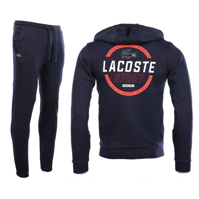 b56644257b Lacoste - Lacoste Sport - Homme - Ensemble de survêtements bleu marine  Wh9344
