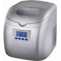 NAELIA - machine à glaçons 150w 15kg/24h avec nettoyage automatique gris - col-06601-nae