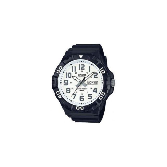 bae25a809e9b5 Casio - Montre Homme Résine Noir Mrw210H-7AVEF Sportswear - 100 Mètres Achat  / Vente Montre Analogique pas chère - RueDuCommerce
