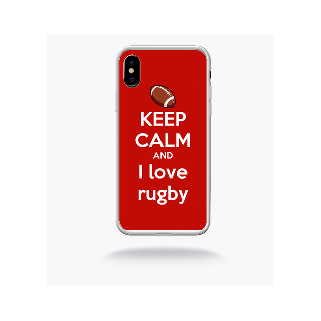 coque iphone x red