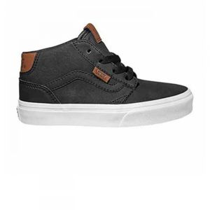 Chaussures Chapman Mid Leather Camel Jr h17 - Vans lDEjmtRW