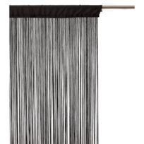 Atmosphera - Rideau fils - 120 x 240 cm - Noir