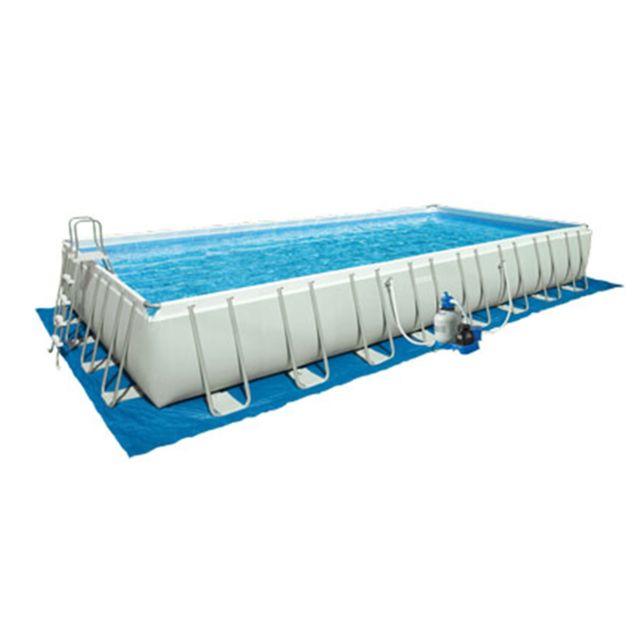 Intex tapis de sol pour piscine rectangulaire pas cher - Toboggan pour piscine hors sol intex ...