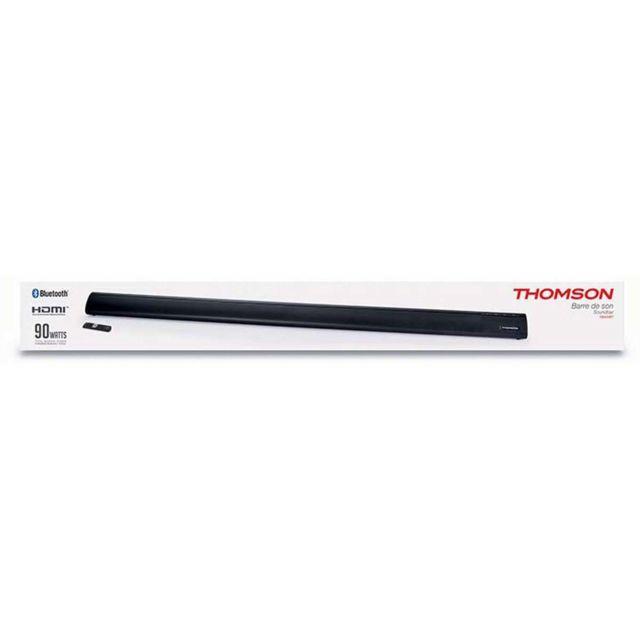 Thomson Barre de son grise bluetooth avec Subwoofer intégré