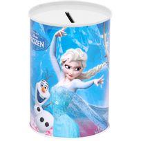 Disney - Tirelire Métal Licence Décor Reine de Neige Modèle Aléatoire