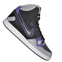 Nike - Basket Sneaker - Son Of Force Mid - Noir Noir Violet