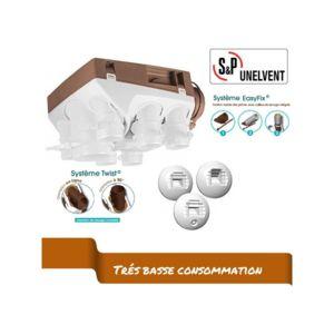 unelvent kit vmc ozeo2 hygro ecowatt khb 603611 t5 t7 pas cher achat vente vmc. Black Bedroom Furniture Sets. Home Design Ideas