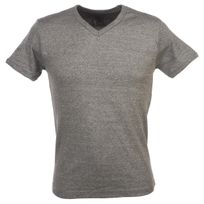 Crossby - Tee shirt manches courtes Fit d grey mel mc tee Gris 58400