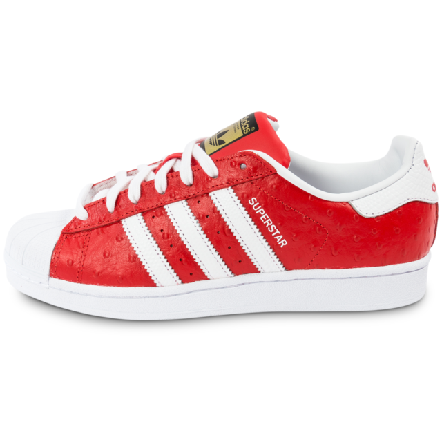 Adidas originals Superstar Animal Rouge Tennis pas