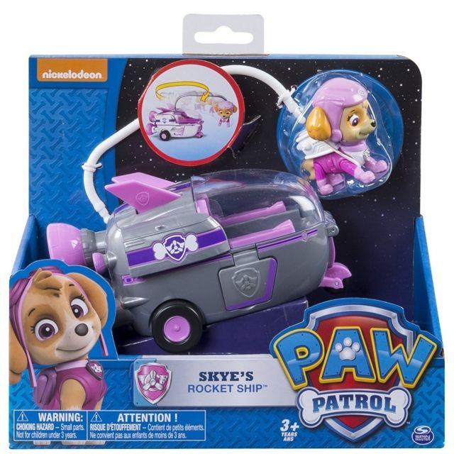Pat Patrouille - Stella + Fusee - Figurine Et Vehicule - Paw Patrol
