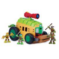 TMNT - Camion De Combats avec 30 Sons - Figurine Exclusive 6 cm - 6734