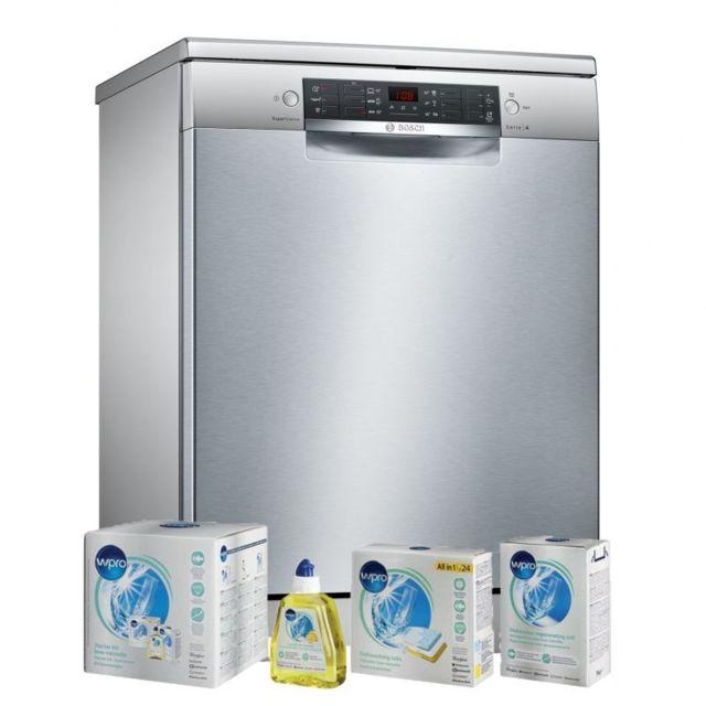 Bosch Lave-vaisselle Posable inox 46dB A++ 13 couverts 60cm AquaSensor