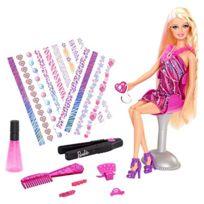 Barbie - Bdb19 - PoupÉE - Tatous Chevelure