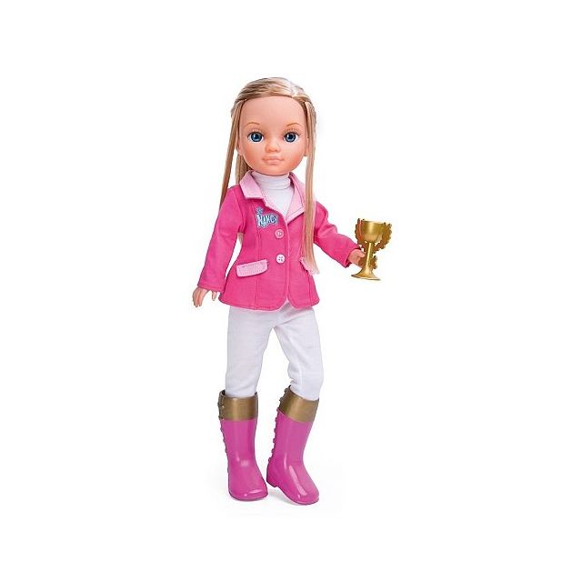 Famosa - Poupée 43 cm Nancy Pink Sports   Equitation - pas cher ... e3fa14e4f4b