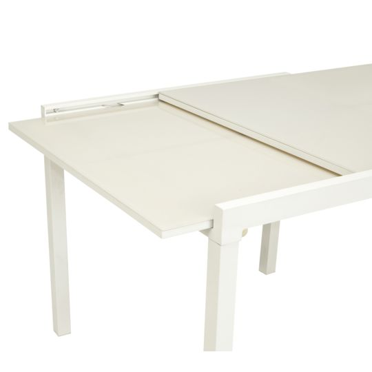 Table Tello extensible 90/180 cm - Taupe à Prix Carrefour