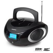 Audiosonic - Cd-1594 Radio stéréo Cd / Mp3 / Usb Noire