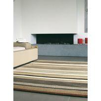Brink & Campman - Tapis rayé noué main pour salon Tracks B Tapis Moderne par Brink and Campman