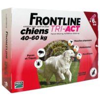 Frontline - Tri-Act 6x6ml - Pour chien de 40-60kg