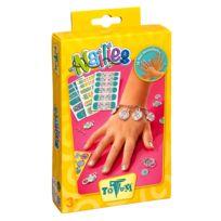 Totum - Kit créatif Décorations pour ongles et bracelets : Creativity Nailies