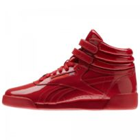 Reebok - Basket Freestyle Hi Patent Leather Junior - Ref. Cn2078