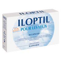 Ilapharm - Iloptil Vision - Plantes, Vitamines, Minéraux - Défendez votre capital vision - Programme complet pour 40 jours 3 boîtes