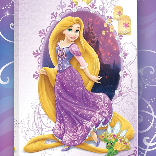 Bebe gavroche tableau princesse raiponce disney pas - Peinture princesse disney ...