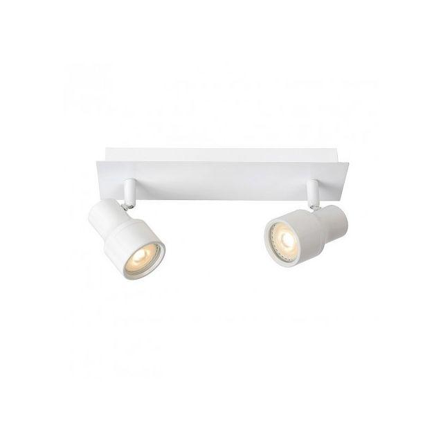 Spot salle de bain encastrable Sirene Led Ip44 L28 cm - Blanc