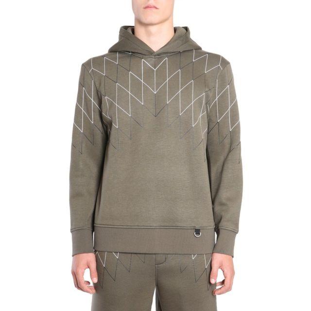 Barrett Blackbarrett By Neil Homme Pxjs7381CH1653 Vert Viscose Sweatshirt