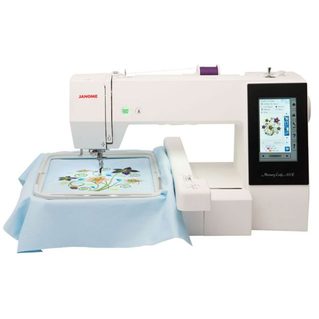Janome Machine à broder Mc500E - garantie 5 ans