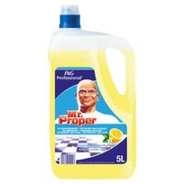 Mr Propre - Nettoyant multi-usages Mr Proper citron - Bidon de 5 litres