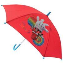 Eurosanit - Parapluie Mickey Club House rouge