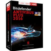 BitDefender - antivirus plus 2016 pour 3 PC