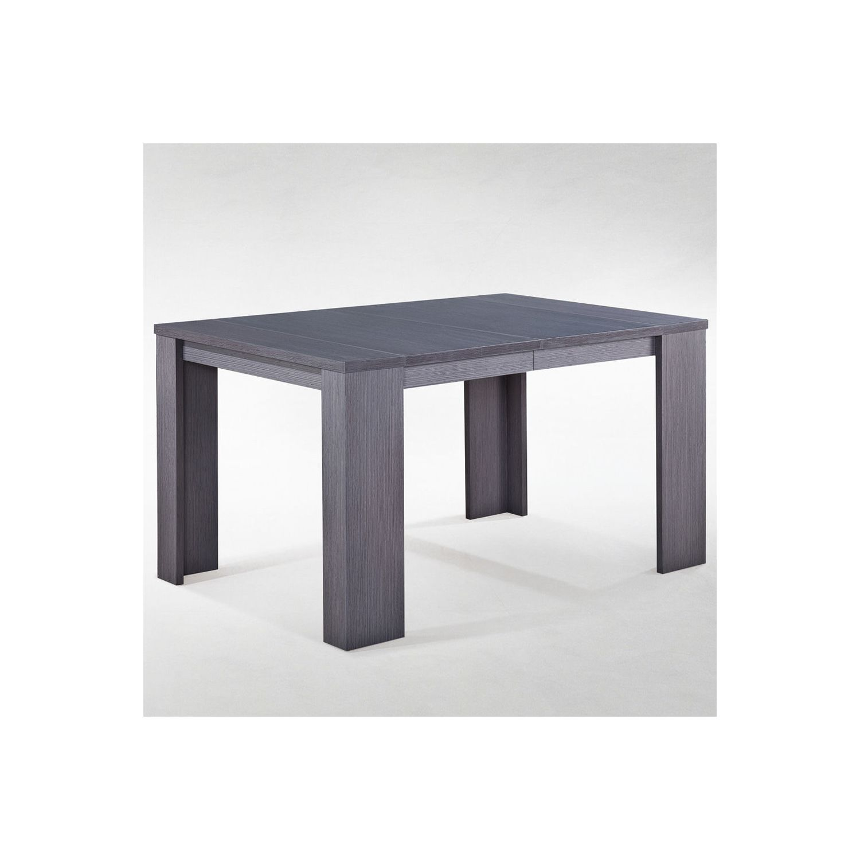Soldes menzzopremium table console brookline noir marron - Table console brookline ...