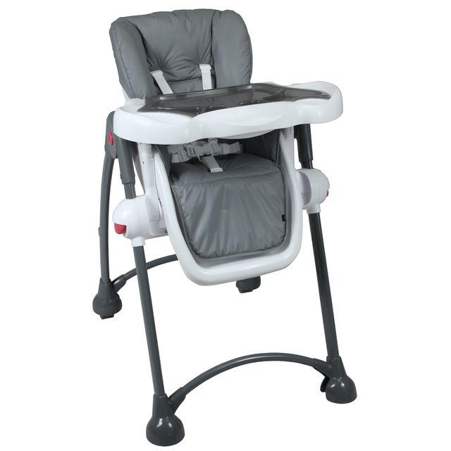 Tex Baby Chaise Haute Bébé Pliable Avec Tablette Ajustable